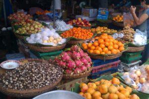 Food at Vietnamese Market